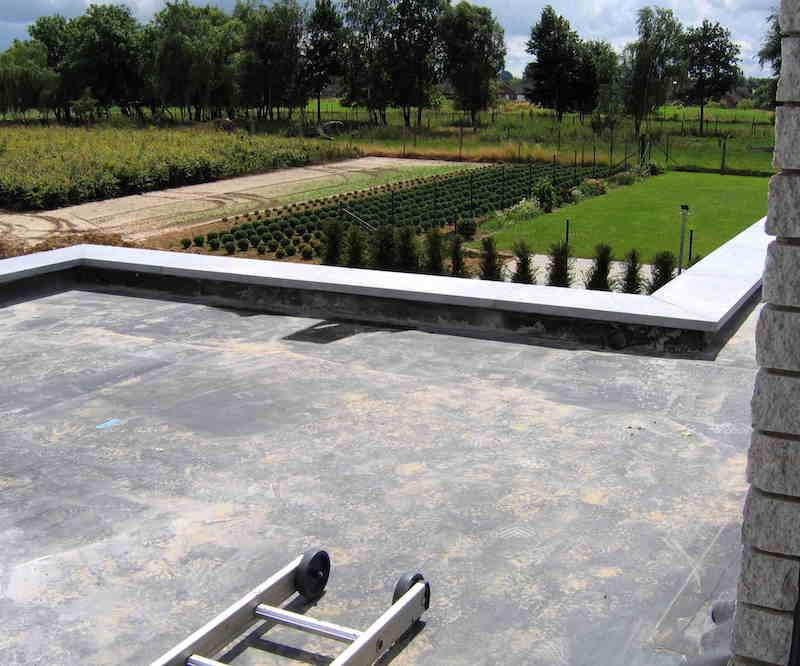 EPDM flat roof