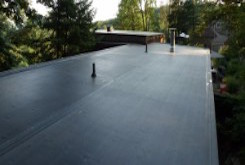 EPDM roofing installation and flat roofs
