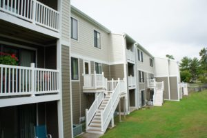 Example of exterior siding